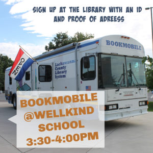 Bookmobile at WellKind